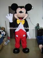 Mickey and minnie cartoon character mascot costumes Mickey and minnie character costume
