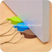 J175 childern creative leaves silicone door slam prevention guard