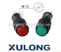 12mm Pilot lamp NXD-212 DC12V/DC24V/AC220V indicator