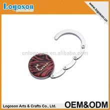 LJ-270 Cheap high quality red promotion bag hook
