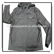 wholesale cheap price man leather pilot jacket
