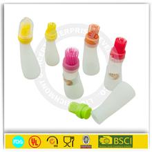 2015 cutlery kitchenware silicone bottle BBQ brush