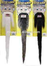 New arrival halloween costume ideas mustache wholesale fake beard and mustache MU2022