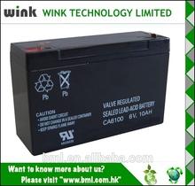 Global selling 6v 10ah UPS Battery