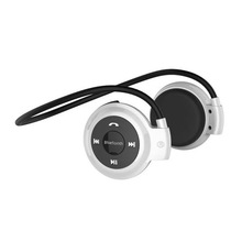 Headphone bluetooth for pc music select and volume control earphone