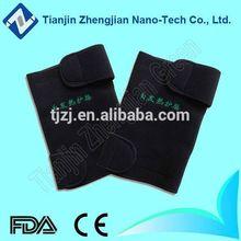 Hot sale nano tourmaline ceramic added self heated knee brace