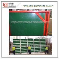 18mm concrete form HDO plastic exterior plywood 4'x9' 4'x10'