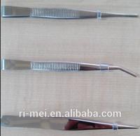 Stainless Steel Nickel-plated points tweezers