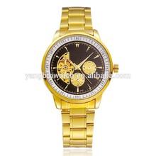 fashion design men women mechanical automatic brand watch