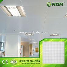 Economical durable aluminum ceiling design