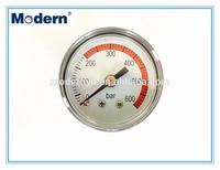 "1.6"" High pressure gauge 0-600bar"