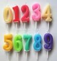 Número de cumpleaños de la vela