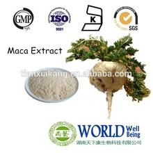 GMP maca extract powder/herbal medicine for sex improvement maca extract powder/ hot sell 4:1 maca extract powder bulk