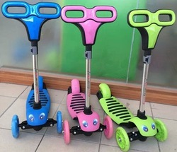 3 wheel mini micro kids yonger childen folding kick scooter