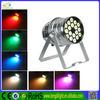 Professional dmx512 led par 64 light,10w rgbw led par light,18pcs 10w led par light (4 in 1)