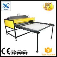 Trade Assurance 110x170cm high pressure flat bed textile heat transfer machine