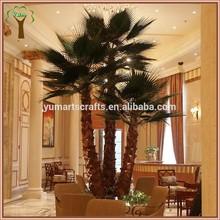 indoor landscape decoration artificial big palm tree