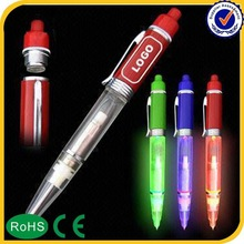 Novelty Promotion Gifts classical promotional pen with led light