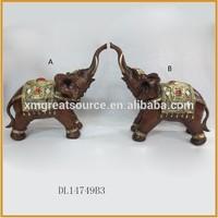 newest lovely resin elephants figurines wholesale