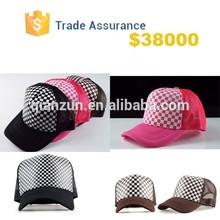 New Baseball Cap Snapback Trucker Mesh Cap Visor Adjustable Women Men Sport Hat