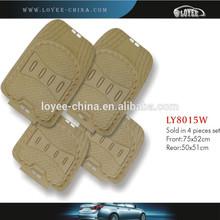 Wholesale waterproof car pvc mat universal car mat auto accessories