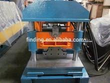 China machine to make stainless steel ridge cap/roof ridge cap making machine price