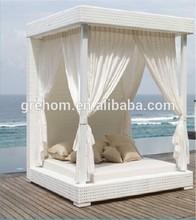 garden furniture design rattan canopy bali bed outdoor
