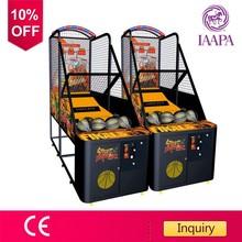 Game center street basketball game machine
