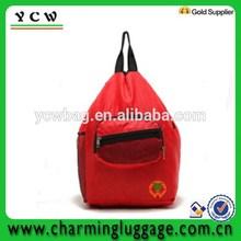 wholesale promotional polyester drawstring backpack bag shopping bag