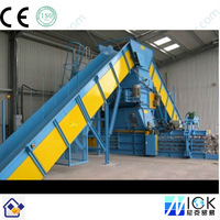 Fully automatic scrap carton and paper baler machine for recycle/Baling Machine