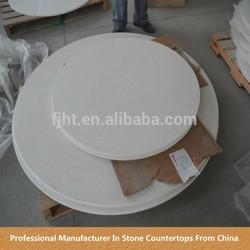 round shape vietnam quartz stone countertops