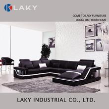 LS-208A hot sale modern deisgn leather sofa