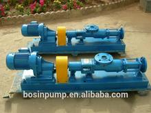 Single screw pump different viscosity transfer pump screw type