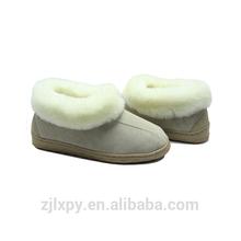 2015-9102 women sheepskin hard sole slipper