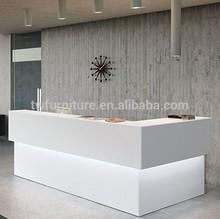 New style beauty salon reception desk/commercial reception desk modern design