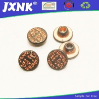 metal rivet for jeans with english words