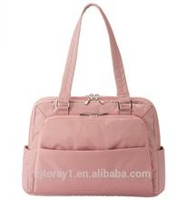 Lady fashion multifunction laptop trolley bag
