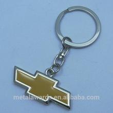 Custom High quanlity Car logo metal key chain with one colour