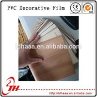 plastic tube panel decoration laminating PVC Film