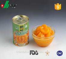 312g/425g/850g/3000g canned mandarin orange in nutral juice