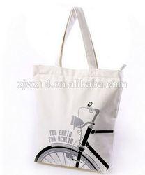 portable cotton bag/ best sale white drawstring backpack cotton bag/ promotional reclycled portable cotton bag