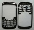 Nuovo di zecca per blackberry curve 3g 9300 mascherina anteriore completo di custodia faceplate copre ( set completo ) con lente