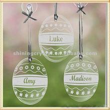 fashion crystal christmas ornament glass ornament