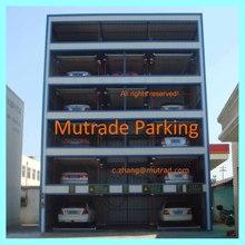 Hydraulic Lift Slide Auto Car Parking System High End Garage Parking