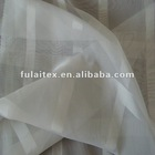 100% Polyester Jacquard Square Voile Curtain Fabric