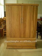 Chinese Oak modern bedroom wardrobe