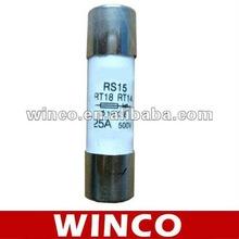 Ceramic tube fuse 10x38