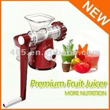 New/2012 manual masticating Fruit/vegetable juicer