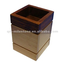 Double tone 2 lines table pen holder