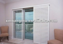 Horizontal Movable Vent Louver Blade Shutter Sliding Door